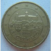 Словакия 10 евроцентов 2009 г.
