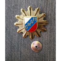 Кокарда ОМОНА России.
