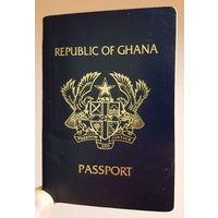 Чистый бланк паспорта республики Гана