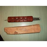 Пульт управления крановый с ключ-маркой (из СССР)