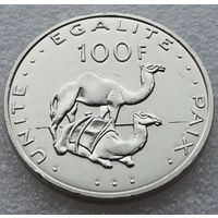 Джибути. 100 франков 2007 год КМ#26