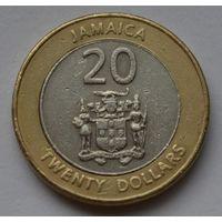 Ямайка 20 долларов, 2000 г.