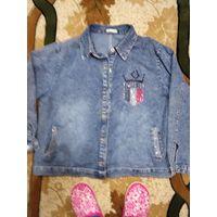 Куртка джинс модная 54-56