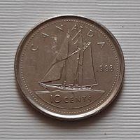 10 центов 1998 г. Канада
