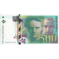 Франция 500 франков 1995