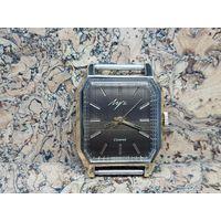 Часы Луч,позолота Au,почти неношеные,редкие.Старт с рубля.