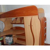 С доставкой Двухъярусная кровать,матрас,шкаф,стол