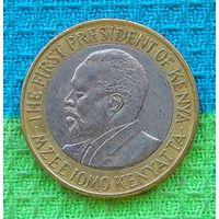 Кения 10 шиллингов 2009 года