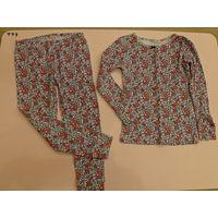 Пижама Carters в цветочный принт, размер 4Т (3-4 года)