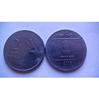Индия 2 рупии 2008 г.  распродажа