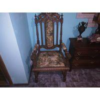 Кресло -трон 1870_1900 гг.