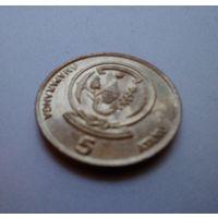 Руанда 5 франков, 2009