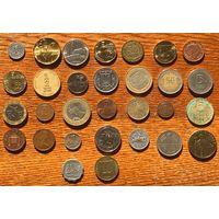 Сборный лот монет 30 шт.