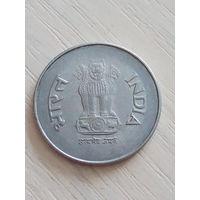 Индия 1 рупия 1998г.