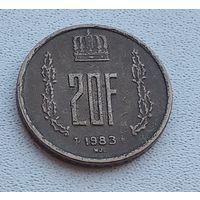 Люксембург 20 франков, 1983 5-13-2