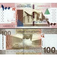 Судан 100 фунтов образца 2019 года UNC