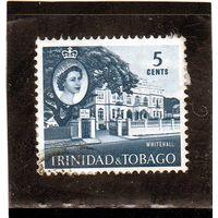 Тринидад и Тобаго.  Mi:TT 174. Уайтхолл, Порт-оф-Спейн. 1960.