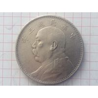 Китай Республика доллар 1914г