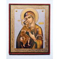 Икона Богородица с младенцем Иисусом