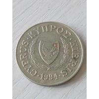 Кипр 20 центов 1994г.