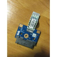 Плата для подключения DVD привода со шлейфом для ноутбука Lenovo G50-30, G50-45, G50-70, G50-80, G51-35, Z50-70, Z50-75 (NS-A274 ACLU2/ACLU4)