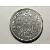 Чили 1 песо 1881г.Копия.