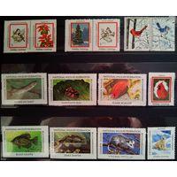 Непочтовые марки - дополнение к выставленной серии + подборка