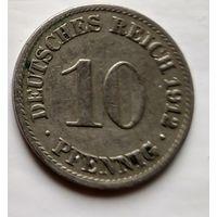 Германия 10 пфеннигов, 1912 A - Берлин 2-1-38