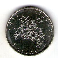 Литва 1 лит 2013 года Председательство Литвы в ЕС