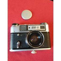 Фотоаппарат ФЭД 5 (с крышкой, без футляра)