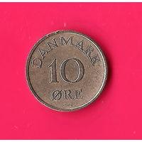 17-35 Дания, 10 эре 1958 г.
