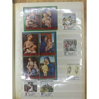 Лот иностранных марок  на тему Культура и искусство ! с 1 руб! ПРОДАЖА КОЛЛЕКЦИИ!