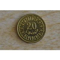 Тунис 20 миллим 1996