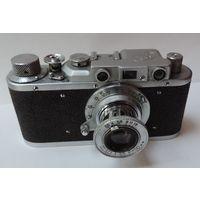 """Фотоаппарат """"ФЭД"""" номер 594158. Исправный."""