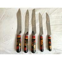 Ножи.Хохлома.Нержавейка.1970-х