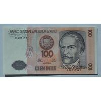 Перу 100 инти 1987