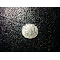 2 злотых 1934 с 1р без минималки