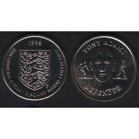 Official England Squad. Defender. Tony Adams -- 1998 - The Official England Squad Medal Collection (f01)