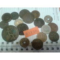 Недорого! 17 монет старой Европы до 1941 года!(лот#.17sh).  Сегодня новые аукционы!!