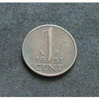 Нидерланды 1 цент 1951