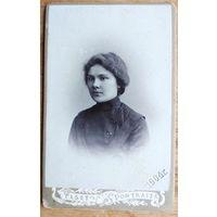 Фото девушки. 1904 г. Тверь. 6х11 см.
