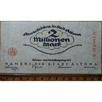 2 миллиона марок 1923г. Алтона
