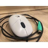 Мышка компьютерная Logitech M-SBF96 проводная б/у