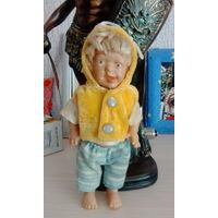 Интересный мальчик предположительно кукла времен  гдр