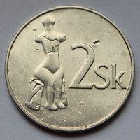Словакия, 2 кроны 1993 г.
