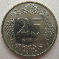 Турция 25 куруш 2009 г.