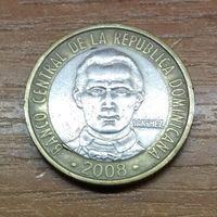 Доминиканская Республика 5 песо 2008 _РАСПРОДАЖА КОЛЛЕКЦИИ