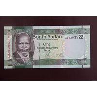 Южный Судан 1 фунт 2011 UNC