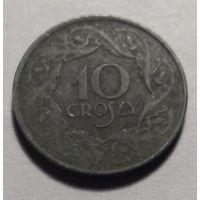 Польша, 10 грошей 1923 год