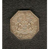 1 леоне 1987 г.
